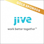 Jive software gold sponsor internal communications
