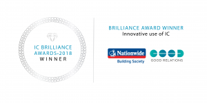 WINNER SEAL - Nationwide Building Society - Good Relations