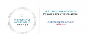 IC Brilliance Awards Winners 2018 - Odeon